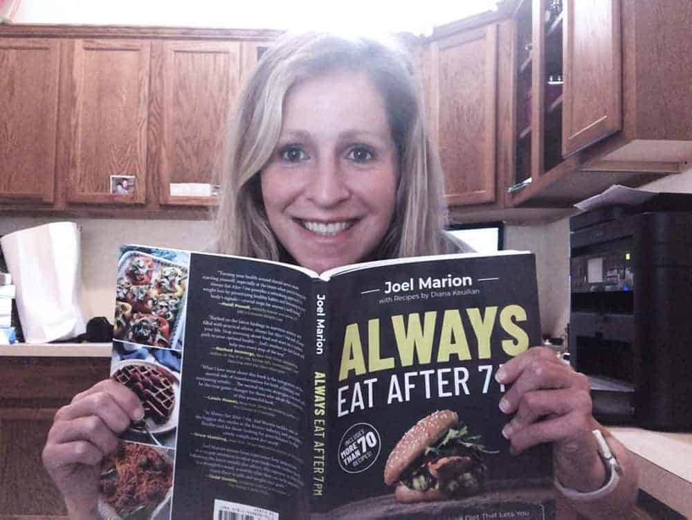 Rachel Austin Blogger Always eat after 7pm book