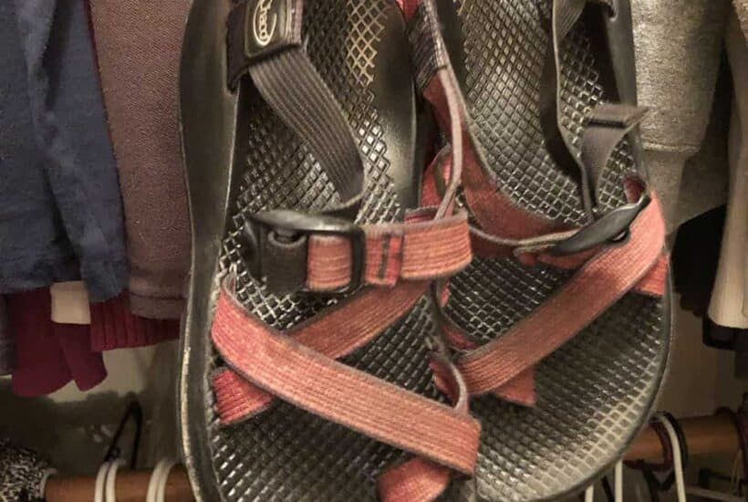 Rachels Chaco sandals that have lasted 15 years
