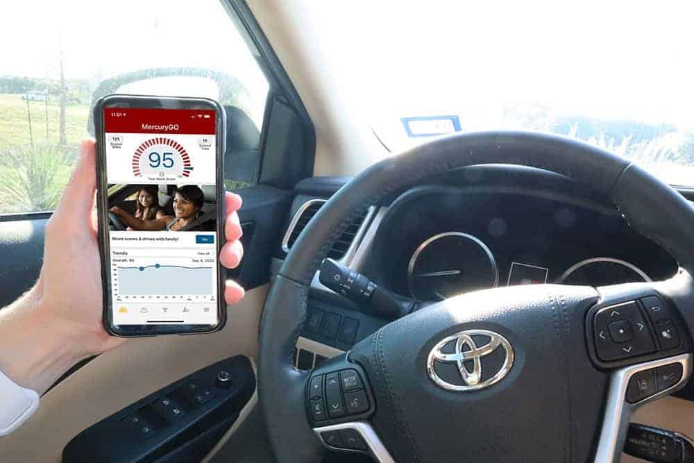 mercurygo app in the car
