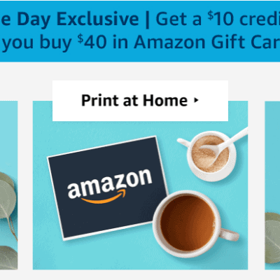 Free $10 Amazon Credit – HURRY!