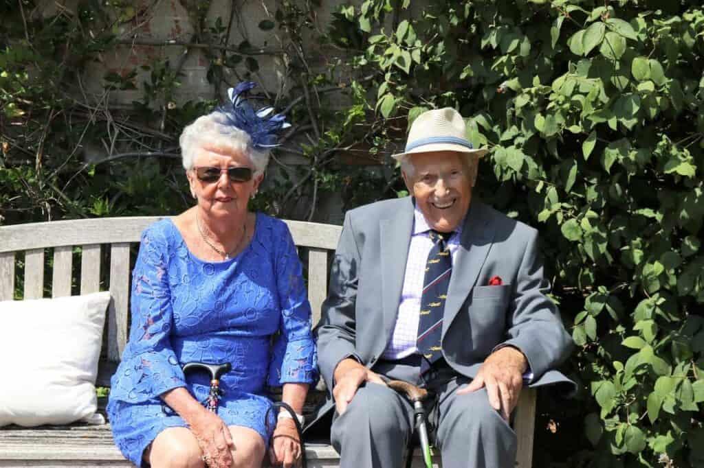 elderly couple retirement