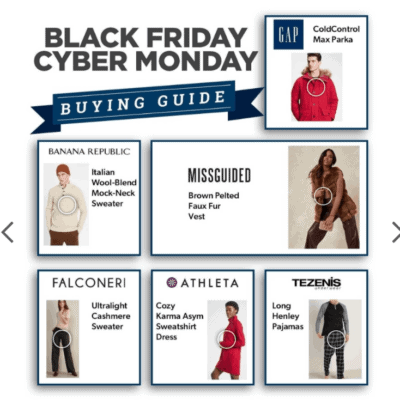 2020 Savings.com Black Friday & Cyber Monday Buying Guide