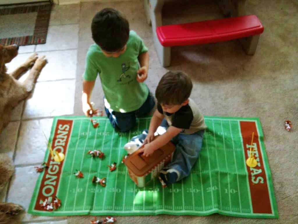 Gift Ideas for Kids Who Love Sports - Texas Longhorns Football Action Figures Review