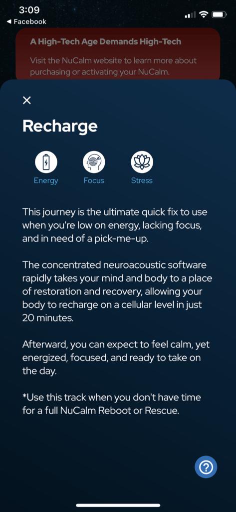 nucalm app screenshot