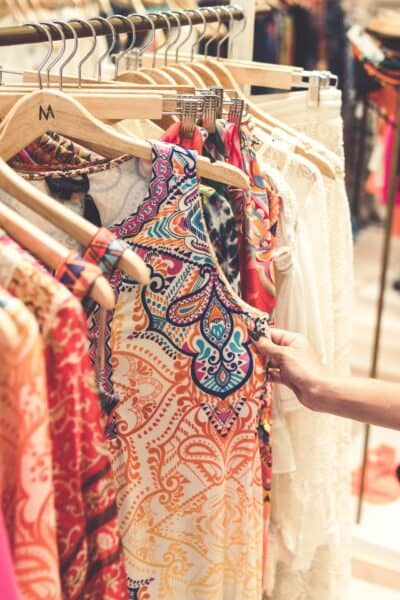 selling clothes retail store