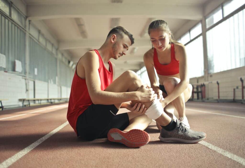 injury athlete
