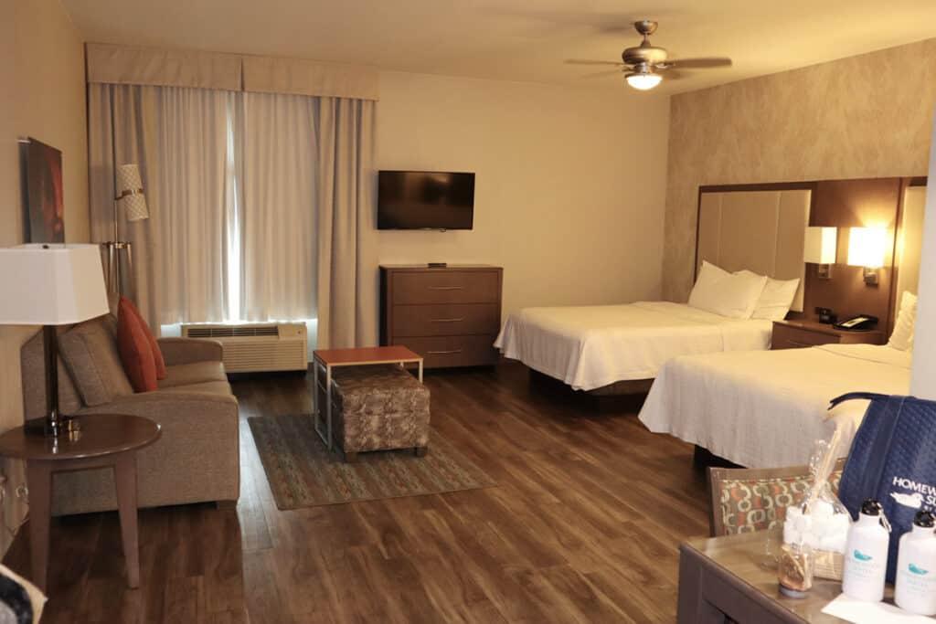 homewood suites moab family suite