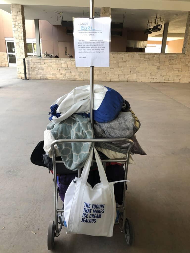 homewood suites moab luggage cart Earl