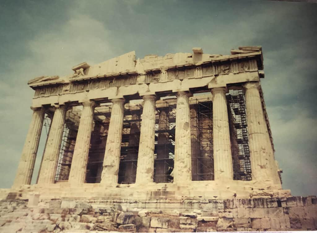 the acropolis greece 1999
