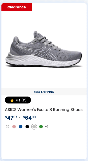 ASICS Women's Excite 8 Running Shoes