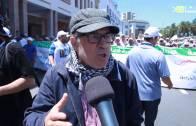 مسيرة مليونية دعما لغزة الصمود  بمدينة الرباط