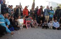 وقفة بالشموع تضامن مع ضحايا حادثة طانطان