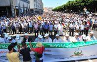 مسيرة شعبية تضامنية مع فلسطين 20 يوليوز 2014