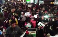 العرائش: مسيرة ليلة تجوب شوارع المدينة تضامنا مع القدس