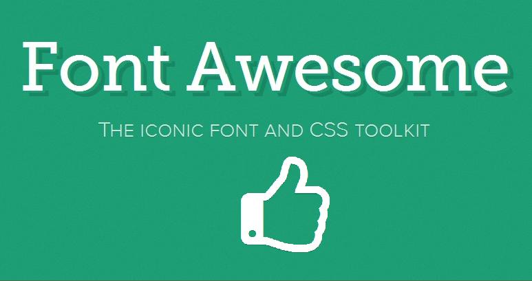 Memasang dan Menggunakan Font Awesome Icons