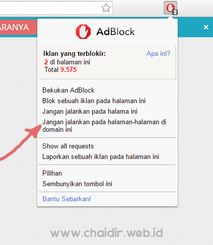 disable-adblock-di-blog-chaidir-web-id