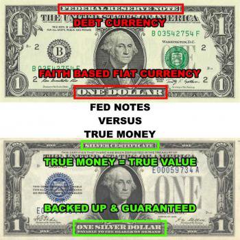 the gold standard vs fiat money