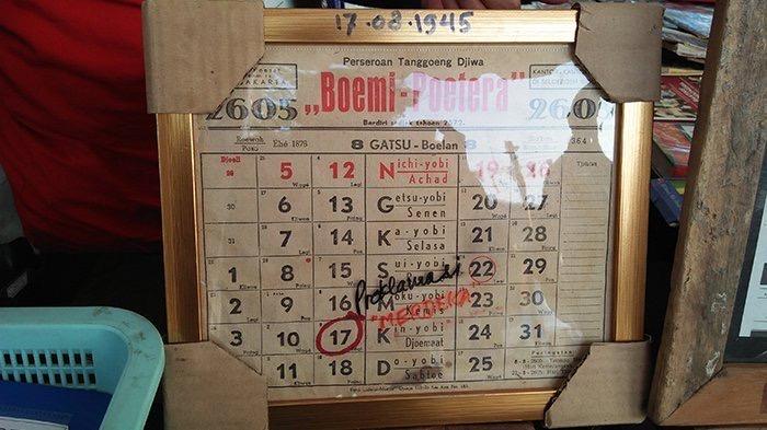 Kalender tahun 1945 hari ahad bukan minggu