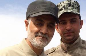 SOLEIMANI WAS A MONSTER, WANTED ATOMIC CLOUD OVER TEL AVIV - GERMAN PAPER