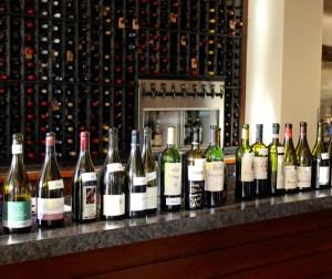 Dine Around bottles of wine