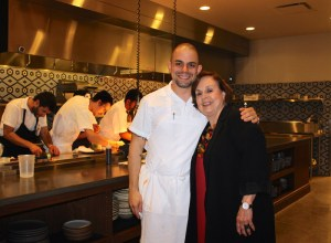 Chef Jose Salazar, Vice Conseiller Gastronomique Honoraire Marilyn Harris