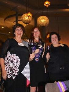 Kathy Merchant, Bethanie Butcher, Mary Horn