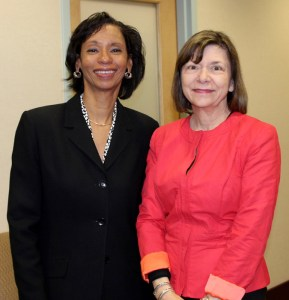 Cincinnati State President Dr. Monica Posey, Jeane Elliott