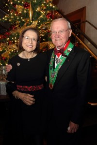 Barbara Weinberg and Bailli Hon. Irwin Weinberg