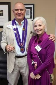 Chevalier John Winkelmann and Jeannine Winkelmann
