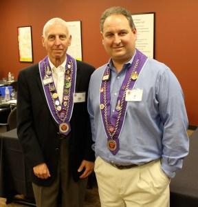 Chevalier Jim Willis and Chevalier Craig Willis