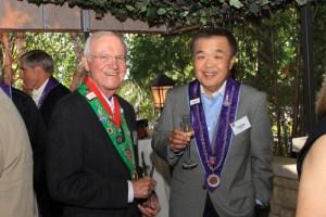 Bailli Hon. Irwin Weinberg and Chevalier Charles Hong