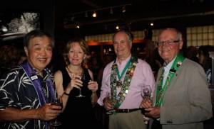 Charles Hong, Barbara Miller, George Elliott, Irwin Weinberg
