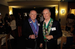 Chevalier Alan Flaherty and Bailli George Elliott