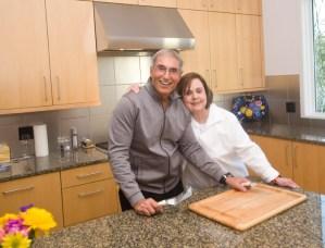 Chevalier Patrick Gaito and Vice Conseiller Gastronomique Marilyn Harris