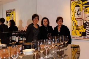 Professionnels du Vin: Amy Neyer, Mary Horn, Kathy Merchant