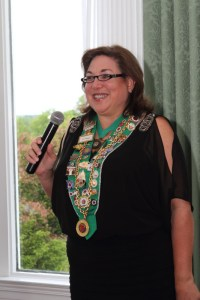 Chambellan Provincial and Bailli Provincial Elect Renee Wilmeth