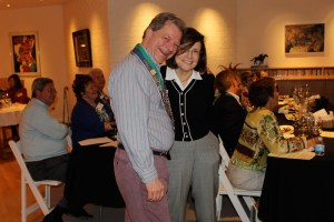 Chargé de Presse Provincial Midwest J.T. Mayer and Barbara Weinberg