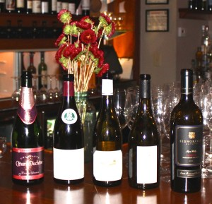 Wines of the event
