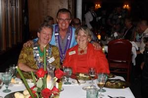 Chargé de Presse Provincial Midwest J.T. Mayer, Chevalier David Millett, and Martha Millett