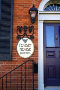 Tousey House Entrance