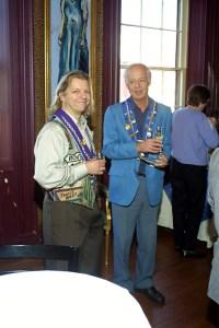 Vice Chargé de Presse J.T. Mayer, Vice Chancelier-Argentier Andrew Robell
