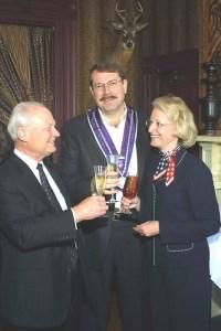 Bailli Peter Hainline, Chevalier Clayton Daley, Meredythe Daley