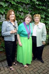 Sherie Marek, Dame Carol Eckerle, Suzanne Hasl