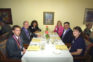 Alvin Feldman, Albert Vontz III, Marge Vontz, Lisa Papa, Will Papa, Brenda Feldman