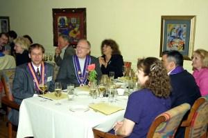 Alvin Feldman, Joe Harris, Albert Vontz III, Marge Vontz, Brenda Feldman, Will Papa, Lisa Papa