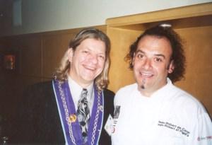 Vice Chargé de Presse J.T. Mayer, Chef Jean-Robert de Cavel