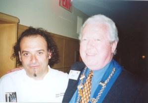 Chef Jean-Robert de Cavel, Vice Argentier Phil Hawkins