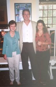 Mary Hainline, Rick Thornell, Carolyn Thornell