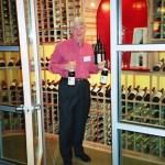 Professionnel du Vin Gordon Hullar exits the Wine Library