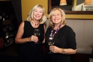 Pamela Reis and Dame Nancy Lawson